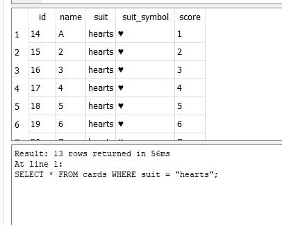 DB Browser for SQLite Select example